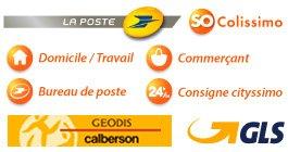 Livraison La Poste / So Colissiomo - GLS - KUEHNE NAGEL
