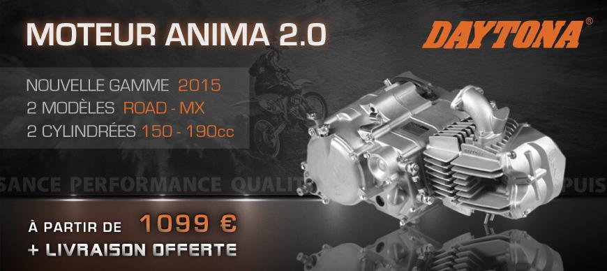 Gamme Moteur Daytona Anima 2.0 Road / MX - 150/190cc