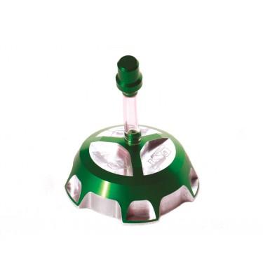 Bouchon de réservoir CNC GUNSHOT - Vert