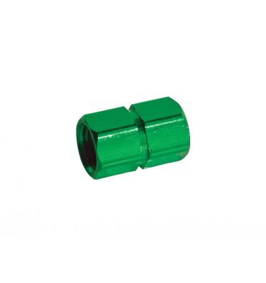 Bouchon de valve alu - Vert