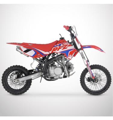 Dirt Bike APOLLO RFZ OPEN 125 - 2021 - Rouge