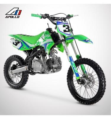 Dirt Bike APOLLO RFZ ENDURO 150 17/14 - 2021 - Vert