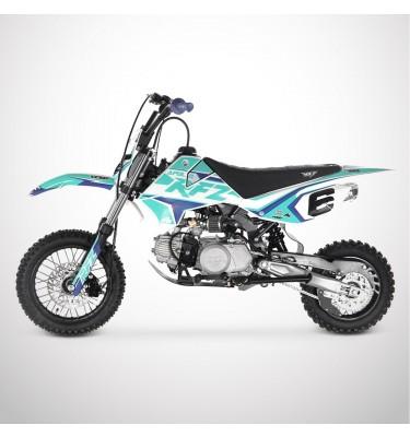 Dirt Bike APOLLO RFZ ROOKIE 110 Semi-Auto 12/10 - 2021 - Bleu