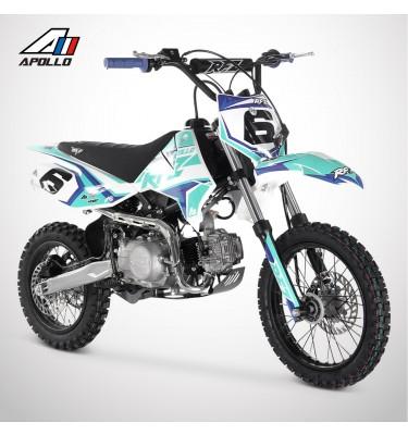 Dirt Bike APOLLO RFZ ROOKIE 125 14/12 - 2021 - Bleu