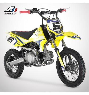 Dirt Bike APOLLO RFZ ROOKIE 125 14/12 - 2021 - Jaune