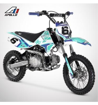 Dirt Bike APOLLO RFZ ROOKIE 125 Semi-Auto 14/12 - 2021 - Bleu