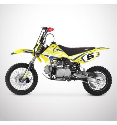 Dirt Bike APOLLO RFZ ROOKIE 125 Semi-Auto 14/12 - 2021 - Jaune