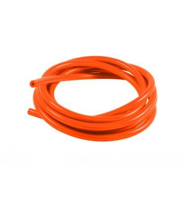 Durite à essence 5mm - 1m - Orange fluo