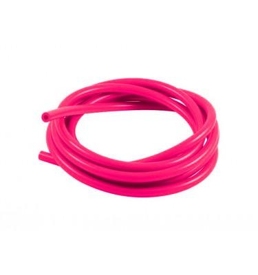 Durite à essence 5mm - 1m - Rose fluo
