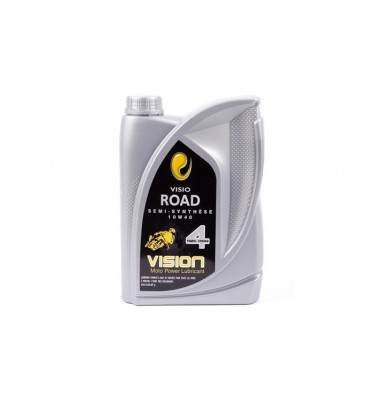 Huile VISIO ROAD 10W40 4T - 2 Litres