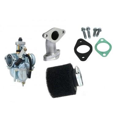 Pack carburateur MIKUNI 26 - Pipe droite