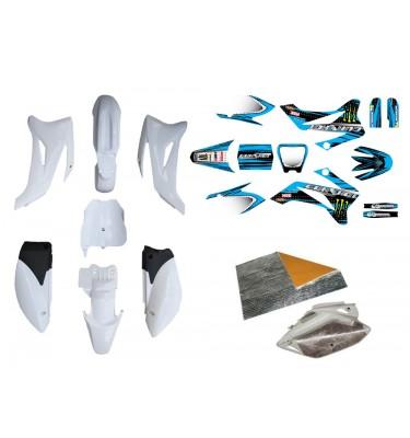 Pack déco GUNSHOT 2014 - TTR110 - Blanc