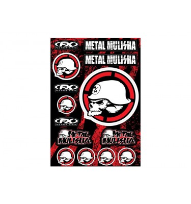Planche stickers - METAL MULISHA 2 - FX FACTORY