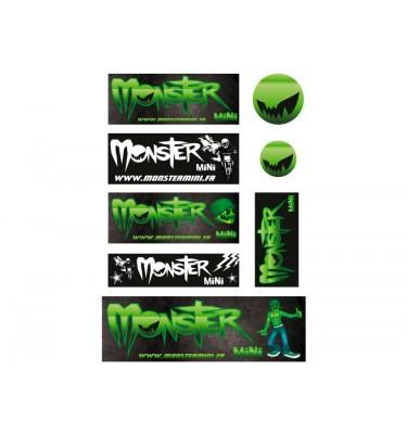 Planche stickers - MONSTER MINI