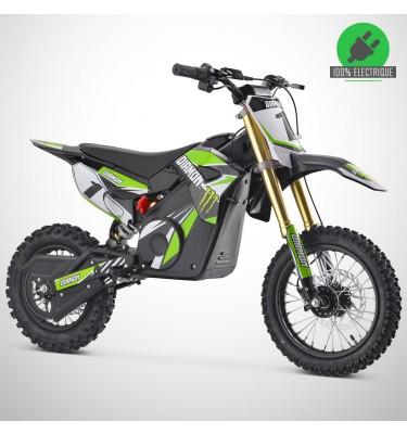 Moto enfant électrique ORION 1000W - Édition 2021 - Vert