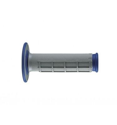 Poignées RENTHAL - Dual Grip - Bleu