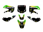 Kit déco MONSTER ENERGY - Type KLX110