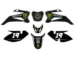 Kit déco MONSTER ENERGY - Type TTR110