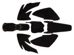 Kit plastique - Type CRF70 - Noir