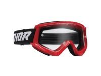 Lunettes / Masque cross enfant THOR 2022 Combat Racer - Rouge / Noir