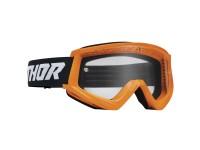 Lunettes / Masque cross enfant THOR 2022 Combat Racer - Flo Orange / Noir