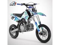 Dirt Bike APOLLO RFZ OPEN 125 - 2021 - Bleu
