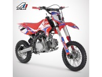 Dirt Bike APOLLO RFZ OPEN 150 - 2021 - Rouge