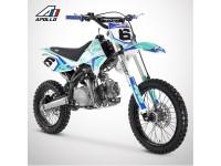 Dirt Bike APOLLO RFZ ENDURO 125 17/14 - 2021 - Bleu