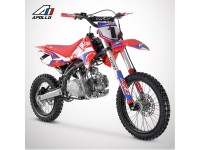 Dirt Bike APOLLO RFZ ENDURO 125 17/14 - 2021 - Rouge
