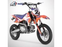 Dirt Bike APOLLO RFZ ROOKIE 125 14/12 - 2021 - Orange