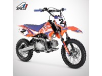Dirt Bike APOLLO RFZ ROOKIE 125 Semi-Auto 14/12 - 2021 - Orange