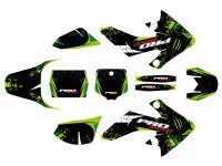 Kit déco PROBIKE - Type CRF50 - Vert