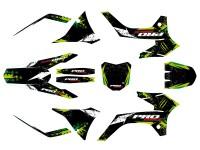 Kit déco PROBIKE - Type KTM - Vert