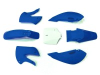 Kit plastique - Type KLX110 - Bleu