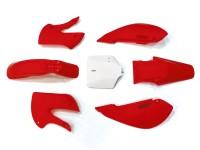 Kit plastique - Type KLX110 - Rouge