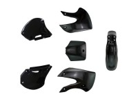 Kit plastique - Type KLX110 BBR - Noir