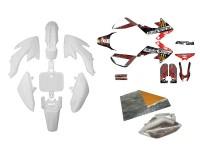 Pack déco GUNSHOT 2013 - CRF50 - Blanc