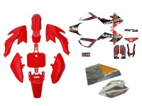 Pack déco GUNSHOT 2013 - CRF50 - Rouge