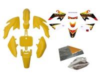 Pack déco ROCKSTAR ENERGY - CRF50 - Jaune