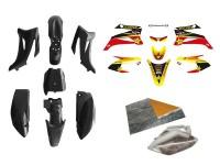 Pack déco ROCKSTAR ENERGY - TTR110 - Noir