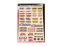 Planche stickers - Multi logos - Kit B - FLU DESIGNS