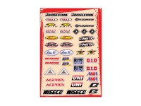 Planche stickers - Multi logos - Kit C - FLU DESIGNS