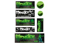 Planche stickers - MONSTER MINI