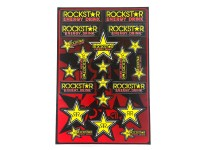 Planche stickers - ONE / ROCKSTAR