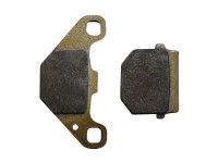 Plaquettes de frein - Semi-metal