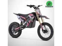 Moto enfant électrique ORION 1300W - 14/12 - Édition 2021 - Rose