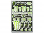 Planche stickers - MONSTER ENERGY