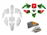 Pack déco ONE / MONSTER ENERGY - CRF50 - Blanc