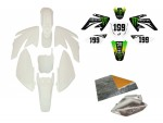 Pack déco ONE INDUSTRIES / MONSTER - CRF70 - Blanc