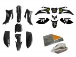 Pack déco MONSTER ENERGY - TTR110 - Noir